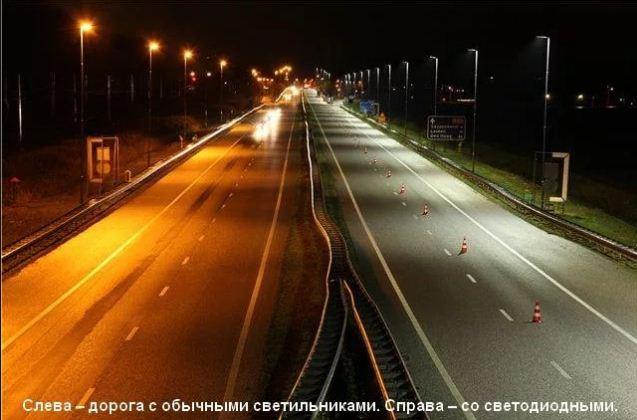 Уличный фонарь в Красноярске